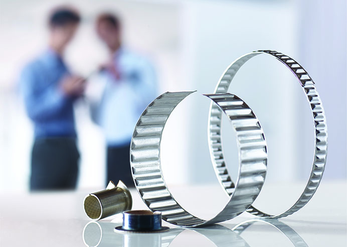 The Bearings group provides composite bearings